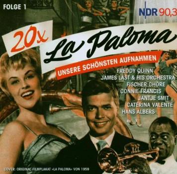 Various - 20 x La Paloma - Unsere schönsten Aufnahmen, Folge 1