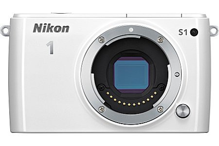 Nikon 1 S1 Systeemcamera wit