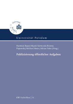 Publizisierung öffentlicher Aufgaben - Wolfgang Abromeit  [Taschenbuch]