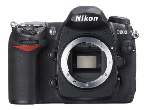 Nikon D200 zwart