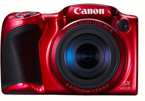 Canon PowerShot SX410 IS rojo