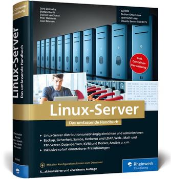 Linux-Server. Das umfassende Handbuch - Stefan Kania  [Gebundene Ausgabe]