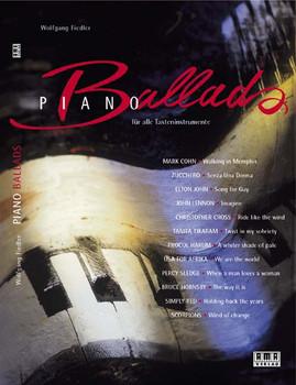 Piano Ballads: Für alle Tasteninstrumente - Wolfgang Fiedler