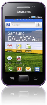 Samsung S5830i Galaxy Ace 150MB paars