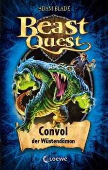 Beast Quest: Band 37 - Convol, der Wüstendämon - Adam Blade [Gebundene Ausgabe]