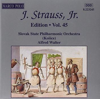 Alfred Walter - STRAUSS II, J.: Edition - Vol. 45