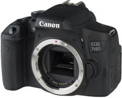 Canon EOS 750D zwart