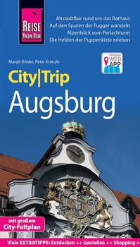 Reise Know-How CityTrip Augsburg. Reiseführer mit Stadtplan und kostenloser Web-App - Margit Brinke  [Taschenbuch]