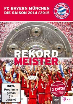 FC Bayern München - Die Saison 2014/2015: Rekordmeister [2 Discs]