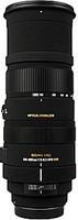 Sigma 150-500 mm F5.0-6.3 DG HSM OS 86 mm filter (geschikt voor Canon EF) zwart