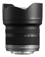 Panasonic Lumix G 7-14 mm F4.0 75 mm Objetivo (Montura Micro Four Thirds) negro