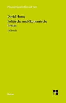 Politische und ökonomische Essays / Politische und ökonomische Essays - David Hume  [Gebundene Ausgabe]