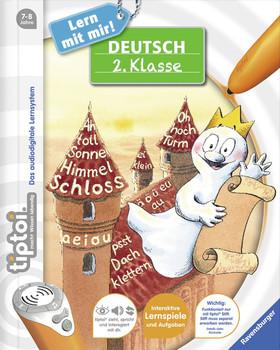 tiptoi® Lern mit mir!: Deutsch 2. Klasse - Annette Neubauer [Spiralbindung, ohne Stift]