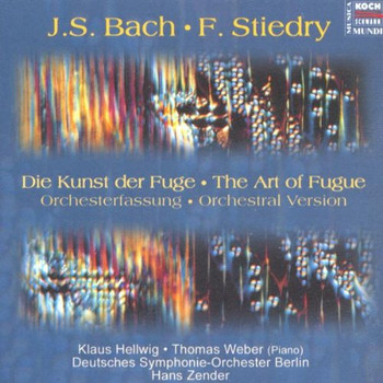 Deutsches Symphonie-Orchester Berlin - Bach: Die Kunst der Fuge, für großes Orchester bearb. Fritz  Stiedry / The Art of Fugue, arr. for full orchestra by Fritz Stiedry