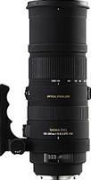 Sigma 150-500 mm F5.0-6.3 DG HSM OS 86 mm filter (geschikt voor Nikon F) zwart