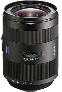 Sony Vario-Sonnar T* 16-35 mm F2.8 SM ZA 77 mm Obiettivo (compatible con Sony A-mount) nero