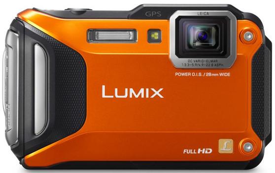 Panasonic Lumix DMC-FT5 oranje