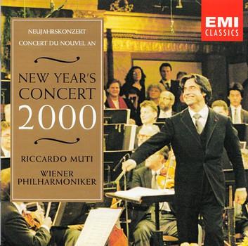 Wiener Philharmoniker - Riccardo Muti: New Year's Concert 2000 [2 CDs]