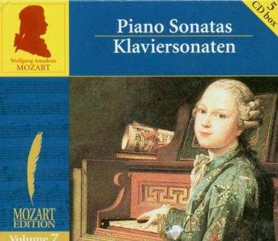 Klra Würtz - Mozart Edition: Vol. 7 - Klaviersonaten [5 CDs]