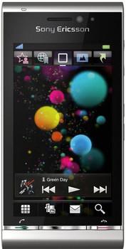 Sony Ericsson U1i Satio 128MB plata