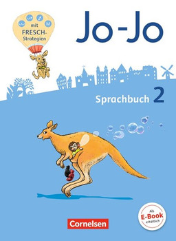 Jo-Jo Sprachbuch 2: mit Fresch-Strategien & Lernspuren [Broschiert, inkl. Heft]