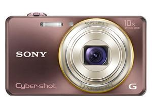 Sony Cyber-shot DSC WX100 mocca marrón
