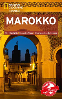 National Geographic Traveler Marokko mit Maxi-Faltkarte - Carole French