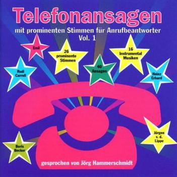 Jörg Hammerschmidt - Telefonansagen F.Ab Vol.1