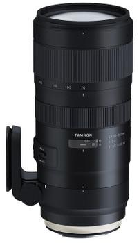 Tamron SP 70-200 mm F2.8 Di USD VC G2 77 mm Obiettivo (compatible con Nikon F) nero