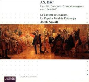J. Savall - Brandenburgische Konzerte