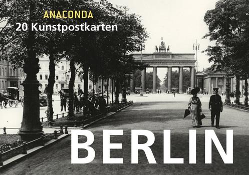 Postkartenbuch Berlin - Anaconda  [Gebundene Ausgabe]