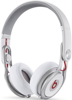 Beats by Dr. Dre Mixr wit & zilver
