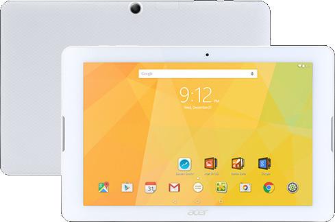 """Acer Iconia One 10 B3-A20 10,1"""" 16 Go eMMC [Wi-Fi] blanc"""