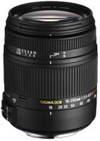 Sigma 18-250 mm F3.5-6.3 DC HSM Macro 62 mm Objetivo (Montura Sony A-mount) negro