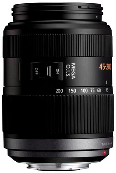 Panasonic Lumix G VARIO 45-200 mm F4.0-5.6 O.I.S. 52 mm filter (geschikt voor Micro Four Thirds) zwart