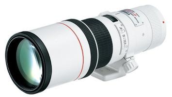 Canon EF 400 mm F5.6 L USM 77 mm filter (geschikt voor Canon EF) wit