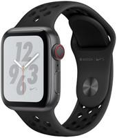 Apple Watch Nike+ Series 4 40mm caja de aluminio en gris espacial y correa Nike Sport antracita/negra [Wifi + Cellular]