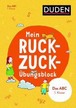Mein Ruckzuck-Übungsblock Das Abc 1. Klasse - Barbara Münch  [Taschenbuch]