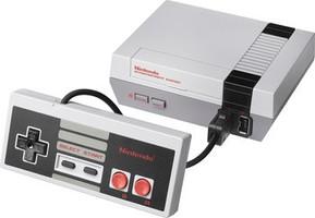 Nintendo Classic Mini: Nintendo Entertainment System [incl. manette] gris foncé