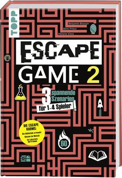 Escape Game 2. 3 Escape Rooms für zu Hause: Die Bibliothek erwacht, Im Labyrinth der Träume, Odyssee im Weltall [Gebundene Ausgabe]