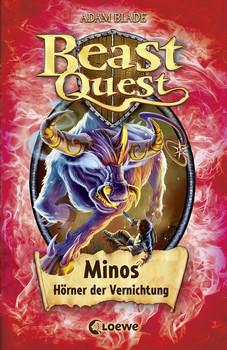 Beast Quest - Minos, Hörner der Vernichtung. Band 50 - Adam Blade  [Gebundene Ausgabe]