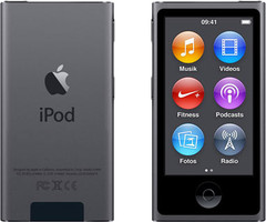 Apple iPod nano 7G 16GB spacegrijs [2015]