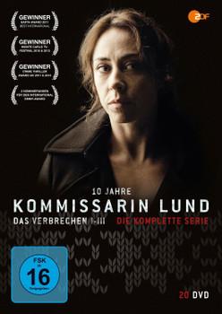 Kommissarin Lund - Das Verbrechen I-III: Die komplette Serie [20 Discs]
