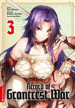 Record of Grancrest War 03 - Ryo Mizuno  [Taschenbuch]