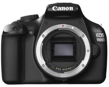 Canon EOS 1100D body zwart