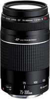 Canon EF 75-300 mm F4.0-5.6 USM III 58 mm filter (geschikt voor Canon EF) zwart