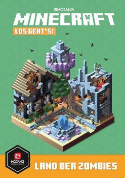 Minecraft, Los geht´s! Land der Zombies [Gebundene Ausgabe]