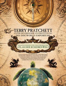 Vollsthändiger und unentbehrlicher Atlas der Scheibenwelt - Terry Pratchett [Gebundene Ausgabe]