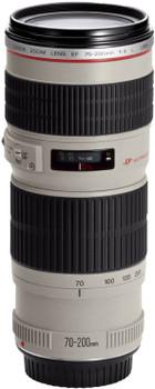 Canon EF 70-200 mm F4.0 L USM 67 mm Obiettivo (compatible con Canon EF) bianco