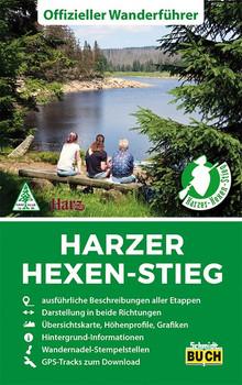 Harzer Hexen-Stieg. Offizieller Wanderführer in beide Richtungen - Marion Schmidt  [Taschenbuch]
